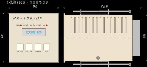 130628_外形図_RX-1003DP_パネル取付_Rev00